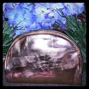 Handbags - Goldish Make Up Bag